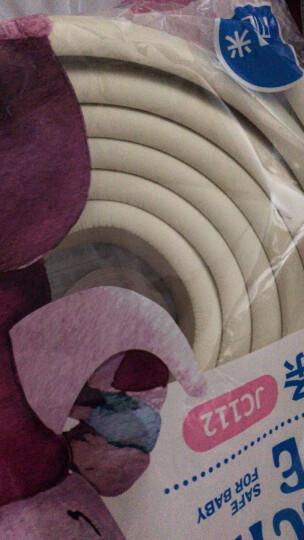 贝得力(BEIDELI)安全防护套装 防撞条 防撞角 多功能安全锁 煤气灶保护盖 插座保护盖 门卡18件装 晒单图