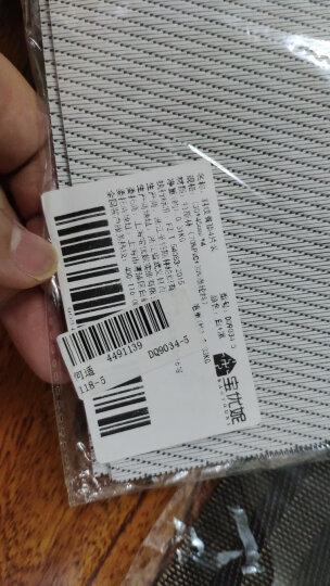宝优妮 餐垫 厨房PVC隔热垫 防滑餐桌垫餐厅防烫西餐垫 放餐具垫4片装 斜纹图案DQ9034-5 晒单图