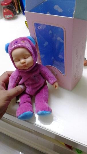 比伯(BIEBER)萌怪小熊 毛绒玩具玩偶 小熊公仔仿真睡眠安抚娃娃 情人节儿童节生日礼物 男女孩玩具 咖啡啡 晒单图