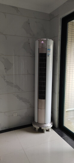 格力(GREE)静享 3匹 变频冷暖 智能 静音 立柜式圆柱空调柜机KFR-72LW/(72555)FNhAd-A3(WIFI) 晒单图