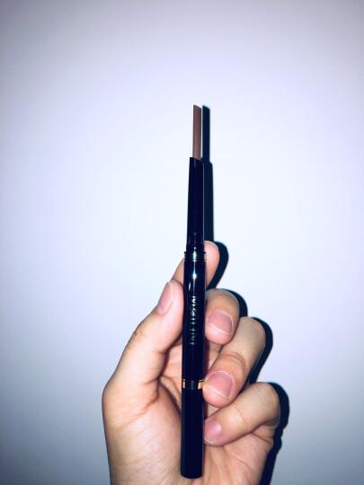 【5色可选】【买2送1】美丽妮眉笔双头造型笔自动旋转勾画自动防水防汗不晕染 炭黑色眉笔 晒单图