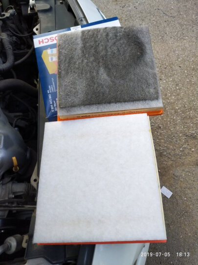 博世滤清器滤芯器/别克雪佛兰保养套装 10至14款新赛欧(1.2L 1.4L) (两滤 机油滤芯+空气滤芯) 晒单图