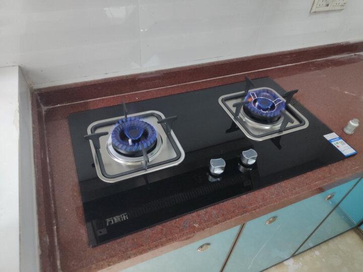 万家乐 双电机 巨吸力 双高火 触控侧吸抽油烟机燃气灶具套装(液化气)A305+IQL83 晒单图