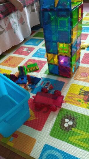 魔磁玩家(MAGPLAYER)磁力片儿童玩具积木拼插磁性玩具一代正方形散片磁力片积木玩具磁铁玩具七巧板拼图 晒单图