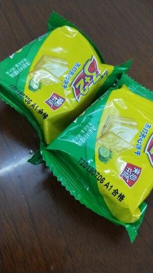 康师傅 3+2苏打夹心饼干蛋糕营养早餐办公室休闲零食小吃清新柠檬500g 晒单图