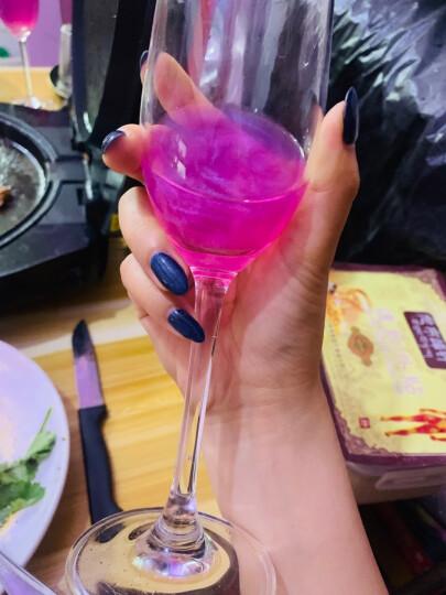 配2香槟杯 尚尼酒庄魔幻云星空酒起泡葡萄酒4支组合整箱礼盒装 火焰酒女士钟爱的配制甜红酒气泡果酒 4*750ml 晒单图