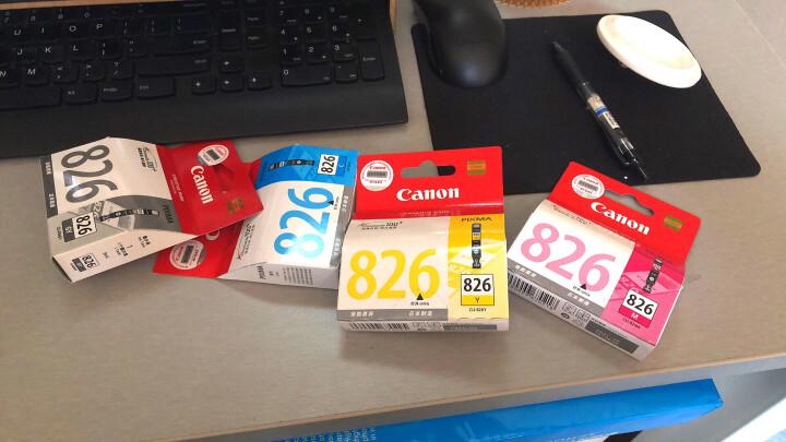 佳能(Canon)CLI-826C 青色墨盒(适用MX898、MG6280、iP4980、iX6580) 晒单图