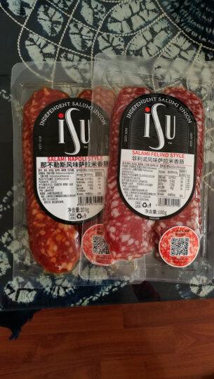 意口艺脍 ISU 菲利诺萨拉米香肠切片 黑胡椒风味 100g/包 晒单图
