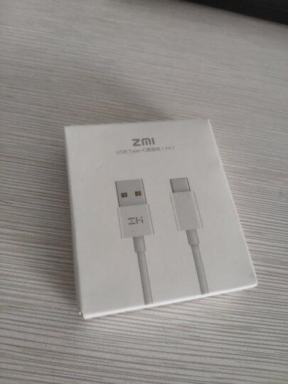 ZMI AL511 micro转Type-C 二合一充电器线/手机数据线/适用于 乐视/小米5/魅族 苹果 Macbook 白色0.3米 晒单图