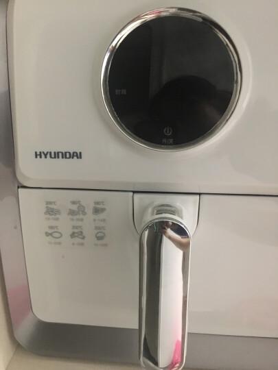 【398元到手】韩国现代(HYUNDAI)智能无油空气炸锅家用多功能大容量薯条机热风循环替代电烤箱 晒单图