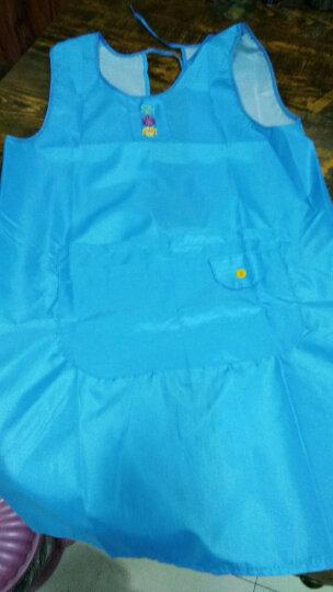 聚心尚品(x-life)围裙袖套女 可爱公主厨房做饭围腰 防水防油成人反穿衣工作服 红色 晒单图