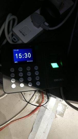 得力(deli) 考勤机 指纹机 打卡机 签到机 新款U盘/局域网下载指纹考勤机3747 晒单图