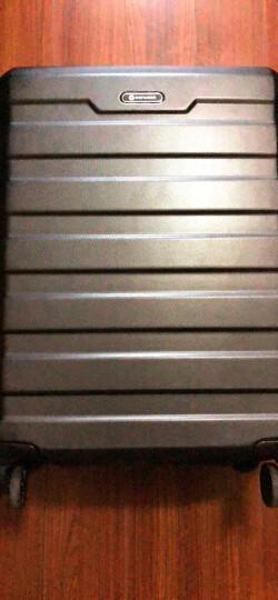 康沃CONWOOD男女拉杆箱万向轮登机行李箱摆地摊神器箱托运旅行箱20/24/28英寸CT866 黑色【升级款纯PC】 20英寸【可登机】【赠配套箱套】 晒单图