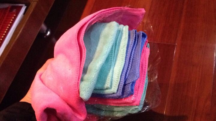 绿之源 洗车擦车毛巾 吸水毛巾抹布不掉毛 车用家用擦车布超细纤维(单条装)*1 晒单图