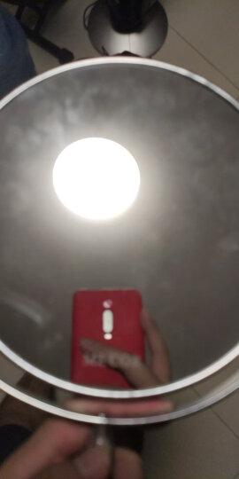 米卡(MECOR) 6英寸高清双面台式化妆镜梳妆镜子 一面3倍放大360°旋转6060 晒单图