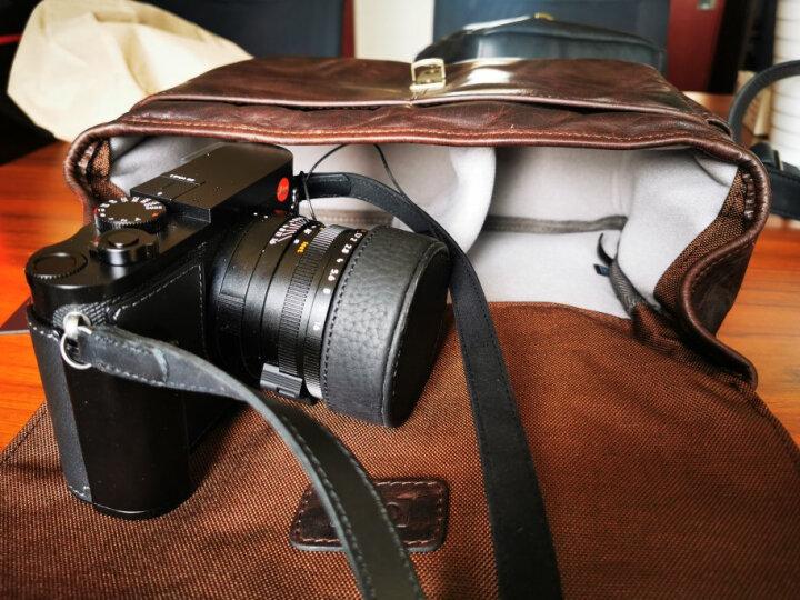ONA 014LDB The Bowery复古真皮徕卡索尼富士奥巴微单包/旁轴相机单肩摄影包 纯手工黑松露色 晒单图