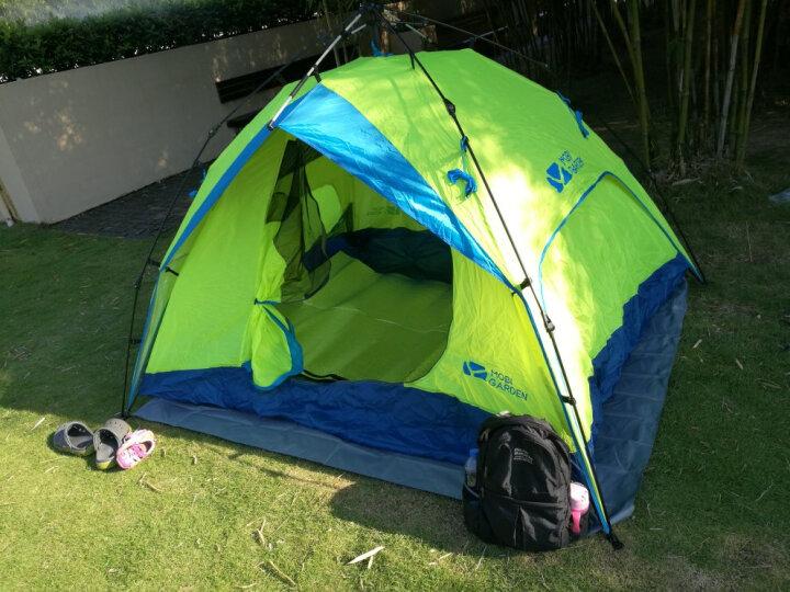 捷昇(JIESHENG) 防潮垫 防水防潮帐篷垫子 户外加厚野餐垫 双面铝膜爬行垫子 200CMX200CM 晒单图