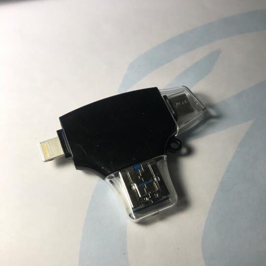 毕亚兹(BIAZE) USB转Micro OTG转接头 手机吃鸡利器 安卓数据线转换头 适用魅族/三星/小米/华为 ZT7-土豪金 晒单图