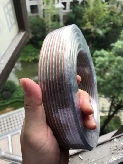 山泽(SAMZHE)发烧级音箱线 100芯25米 纯铜工程级音响线 音频线 喇叭功放连接线音箱连接线 vd-1025 晒单图