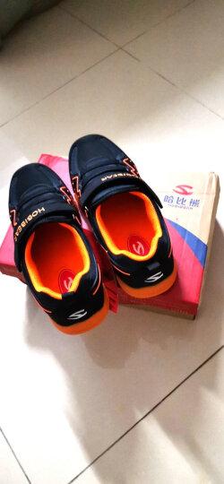 哈比熊童鞋男童鞋春秋款女童鞋子中大童儿童运动鞋休闲鞋跑步鞋 紫桃红 30码/19.4cm内长 晒单图