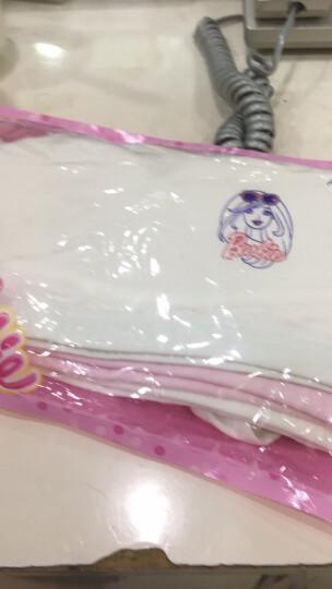 芭比(Barbie)3件装儿童内衣女童文胸9-12岁纯棉小背心发育期大童女孩胸罩小胸少女文胸睡衣抹胸 X6103(1蓝+1粉+1灰 插片款)  85A 晒单图