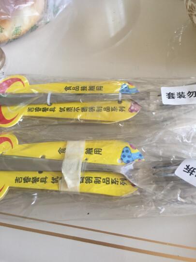 吉睿 筷子/刀叉 钻石系列 不锈钢1号餐刀叉两件套装餐具 CZ5036 晒单图