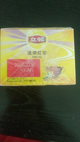 立顿Lipton  红茶  温润红茶叶斯里兰卡红茶 调味茶冲饮袋泡茶包2g*50 晒单图