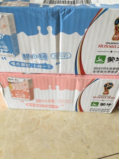 蒙牛 甜小嗨 甜牛奶 250ml*12盒 (男版) 礼盒装 晒单图