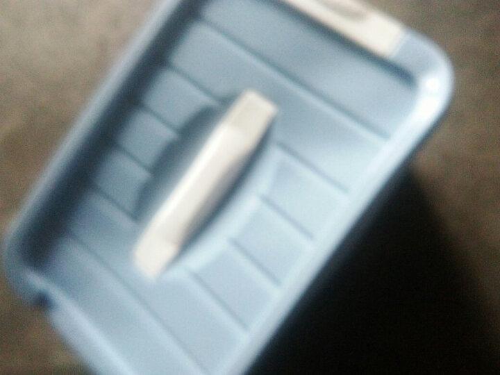 【四件套装】收纳箱手提塑料整理箱衣柜衣服收纳盒宿舍玩具衣物内衣储物箱彩色混装四件装【颜色随机 桌面收纳盒三层 晒单图