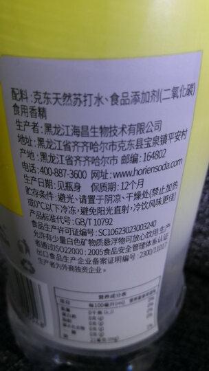 5°C(HORIEN5°C)活力恩 柠檬味 含气果味苏打饮料 500ml*15瓶 整箱装 晒单图
