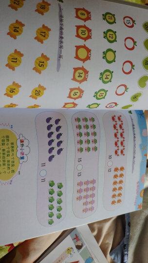 趣味数学训练营:20以内加减法(适用3-6岁) 晒单图