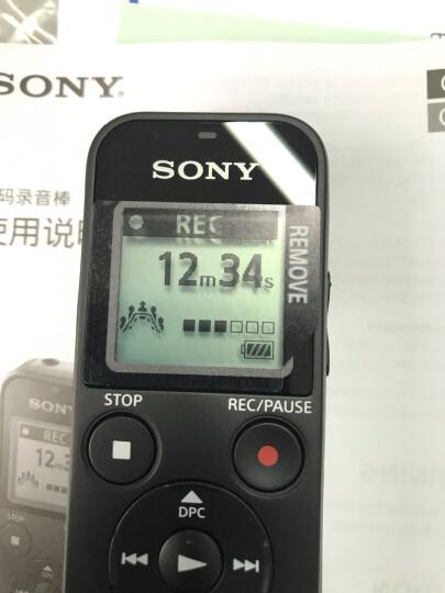 索尼(SONY)录音笔ICD-PX470 4GB 黑色 支持PCM线性录音 便携式学习商务采访 专业大直径扬声器 晒单图