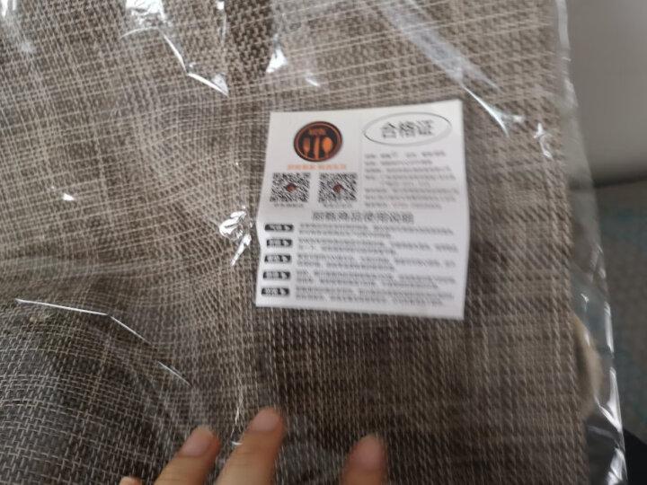 厨甄 日式素色简约餐垫长方形餐桌垫欧式PVC西餐垫隔热垫杯垫碗垫盘垫子餐布水洗 彩虹色1片装 晒单图