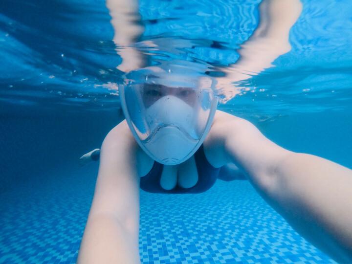 THENICE 潜水镜潜水面罩潜水装备浮潜三宝防雾近视全干式呼吸管儿童成人游泳防呛水 近视款粉色L/XL 晒单图
