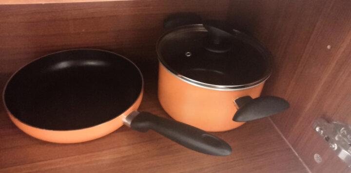 苏泊尔(SUPOR) 厨具不粘锅炒锅煎锅汤锅奶锅蒸锅锅具套装燃气平底锅套装 晒单图