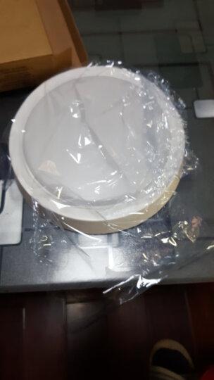 欧普照明(OPPLE) 圆形LED吸顶灯厨房灯卫生间浴室阳台灯过道厨卫灯耐用灯具WS-XG 18瓦【圆形水滴新款】直径30 透明面罩更亮 晒单图