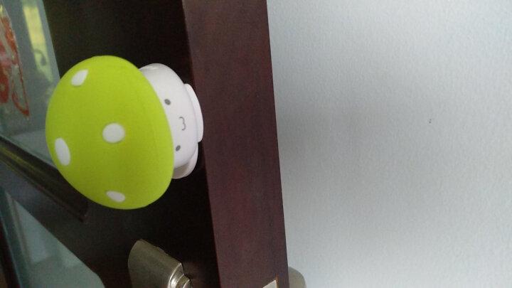 棒棒猪(BabyBBZ) 安全硅胶门卡宝宝防门夹手婴儿童门塞门档 蘑菇门档 2个装玫红色 晒单图