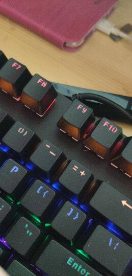 雷柏(Rapoo) V500PRO 机械键盘 有线键盘 游戏键盘 104键混光键盘 吃鸡键盘 电脑键盘 黑色 红轴 晒单图