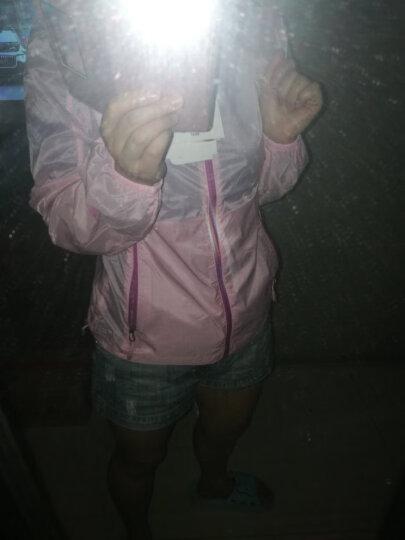 ALPINT MOUNTAIN 埃尔蒙特 户外防晒衣男女UPF40+ 皮肤衣防紫外线风衣透气 女款浅粉 S 晒单图