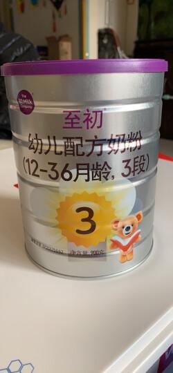 a2至初1段 婴儿配方奶粉 0-6月龄适用 900g 晒单图