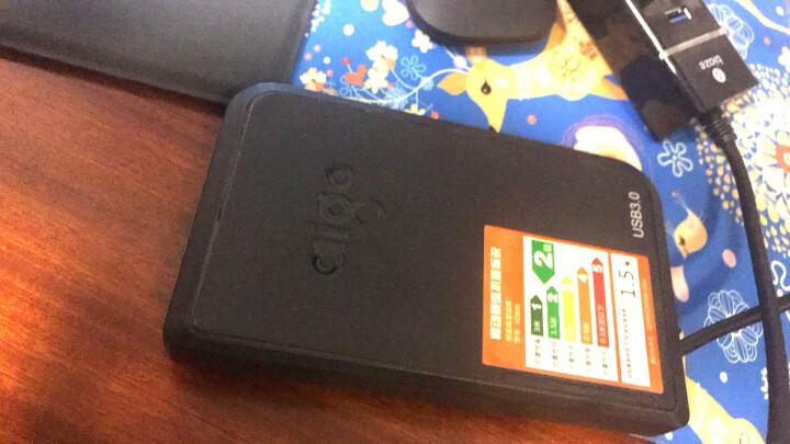 爱国者(aigo )S01移动固态硬盘高速USB3.0 迷你便携式SSD120可选 移动硬盘HD806-1T(非固态) 晒单图