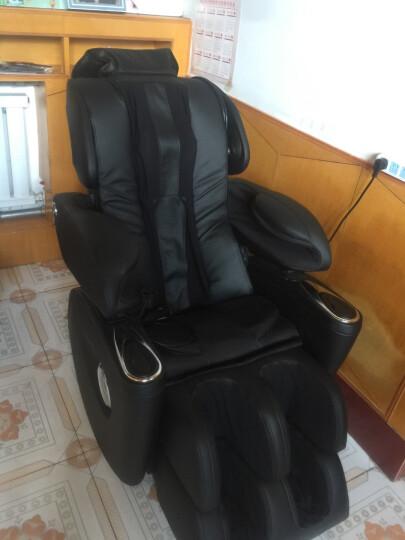 生命动力(Lifepower) 按摩椅全身豪华多功能电动按摩椅家用LP-5400S 黑色 晒单图