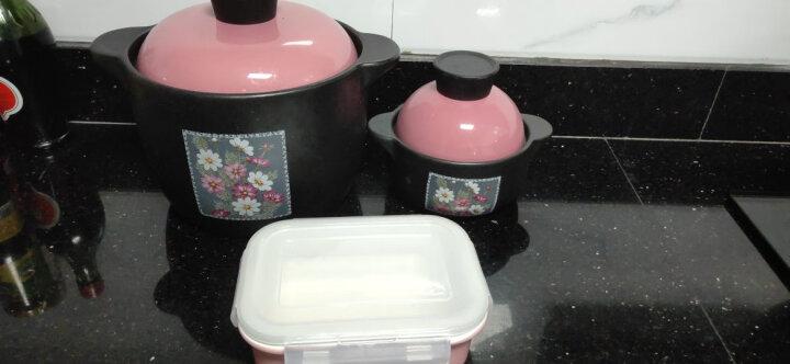 泥火匠 耐热陶瓷锅 温馨生活三件套装 3L汤煲+0.6L盖碗锅+0.5L保鲜碗 晒单图