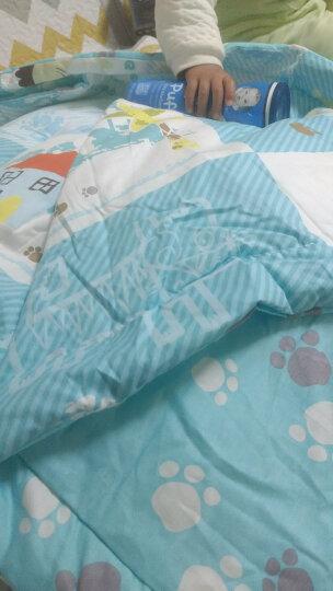 象宝宝(elepbaby)儿童夏凉被婴儿被子幼儿园被褥全棉空调被幼儿园被子120X150CM(动物开会) 晒单图
