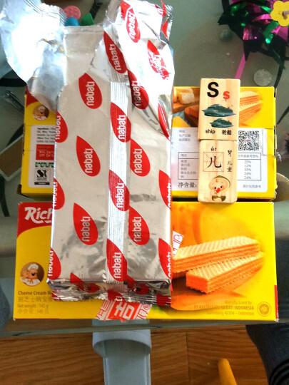 印尼进口 Nabati 丽芝士(Richeese)休闲零食 奶酪味 威化饼干 145g/盒 早餐下午茶 晒单图