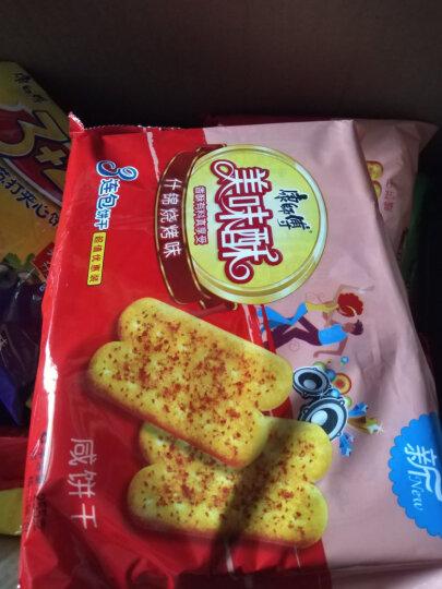 康师傅3+2苏打饼干蛋糕营养早餐办公室休闲零食小吃香草巧克力375g 晒单图