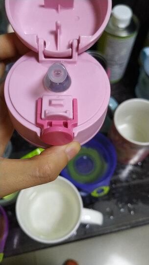膳魔师THERMOS 儿童水杯保温杯学饮杯宝宝便携防漏304不锈钢儿童吸管杯350ml BS5353 PK 晒单图