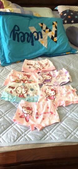 凯蒂猫(HELLO KITTY)6条装儿童内裤女童四角平角女孩纯棉内裤 KTN138  120码 晒单图