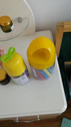 得力(deli)12色桶装学生水溶性旋转油画棒 儿童可水洗蜡笔绘画笔炫彩棒72054 晒单图