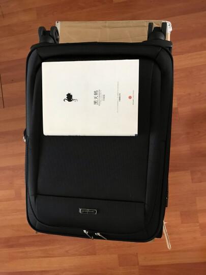威豹(WINPARD)拉杆箱男女旅行箱 22英寸商务休闲行李箱万向轮托运箱 98018黑色 晒单图